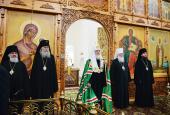 Проповедь Святейшего Патриарха Кирилла в Неделю 5-ю по Пятидесятнице после Литургии в Николо-Вяжищском монастыре