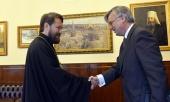 Председатель ОВЦС встретился с новоназначенным послом Испании в России