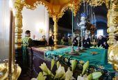 Святейший Патриарх Кирилл прибыл в Валаамский монастырь
