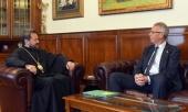 Председатель ОВЦС встретился с послом Новой Зеландии в России