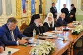 Под председательством Святейшего Патриарха Кирилла состоялось заседание Попечительского совета по восстановлению Валаамского монастыря