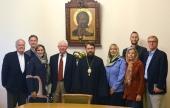 Митрополит Волоколамский Иларион встретился с делегацией фонда Urbi et orbi