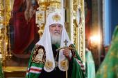 Слово Святейшего Патриарха Кирилла в день памяти преподобных Сергия и Германа Валаамских после Литургии в Валаамском монастыре