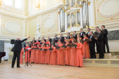 III Международный фестиваль духовной музыки «Петровские дни» открылся в Санкт-Петербурге