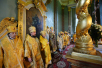 Патриарший визит в Санкт-Петербург. Литургия в Петропавловском соборе