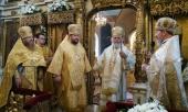 Престольный праздник отметили на московском подворье Сербской Православной Церкви