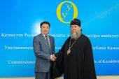 Состоялась встреча главы Казахстанского митрополичьего округа с Уполномоченным по правам человека в Республике Казахстан