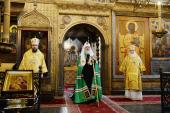 Патриаршее слово в день памяти святителя Филиппа Московского в Успенском соборе Московского Кремля