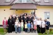 Председатель Синодального отдела по делам молодежи провел совещание с руководителями епархиальных отделов Белорусского экзархата по делам молодежи