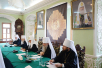 Прибытие Святейшего Патриарха Кирилла в Троице-Сергиеву лавру. Заседание президиума Межсоборного присутствия