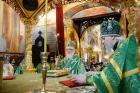 В день памяти преподобного Сергия Радонежского Предстоятель Русской Церкви совершил Литургию в Троице-Сергиевой лавре
