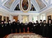 Святейший Патриарх Кирилл удостоил наград ряд архиереев