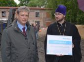 Завершается строительство нового здания Санкт-Петербургского детского хосписа в Павловске