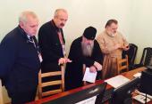 Митрополит Санкт-Петербургский Варсонофий посетил штаб по принесению мощей святителя Николая в Северную столицу