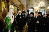 Слово Святейшего Патриарха Кирилла в канун праздника Казанской иконы Божией Матери в Оптиной пустыни