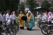 В Нижнем Новгороде стартовал восьмой велопробег православной молодежи «Дорога к храму»
