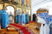 Патриаршее служение в праздник Казанской иконы Божией Матери в Казанской пустыни в Шамордино