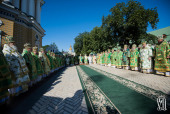 Торжества по случаю дня памяти преподобного Антония Печерского прошли в Киево-Печерской лавре