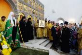 Слово Святейшего Патриарха Кирилла после Литургии в храме Живоначальной Троицы в поселении Троицк г. Москвы