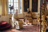 В день памяти прп. Антония Печерского председатель Синодального отдела по монастырям и монашеству совершил Литургию в Иосифо-Волоцком монастыре