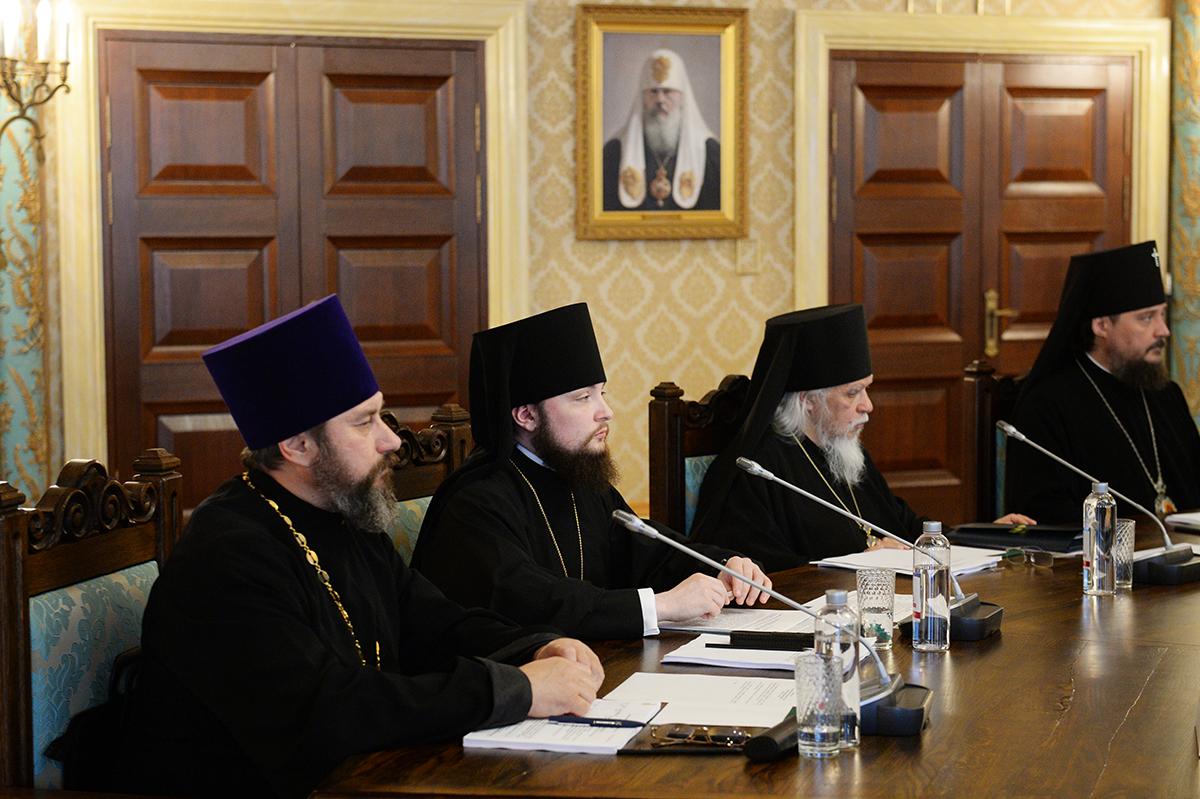 Заседание Высшего Церковного Совета 25 июля 2017 года