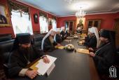În Lavra Pecerska din Kiev are loc ședința Sinodului Bisericii Ortodoxe din Ucraina