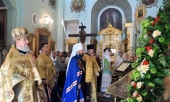 Престольный праздник отметили на московском подворье Антиохийской Церкви