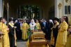 Патриарший визит в Санкт-Петербургскую митрополию. Проводы мощей святителя Николая Чудотворца