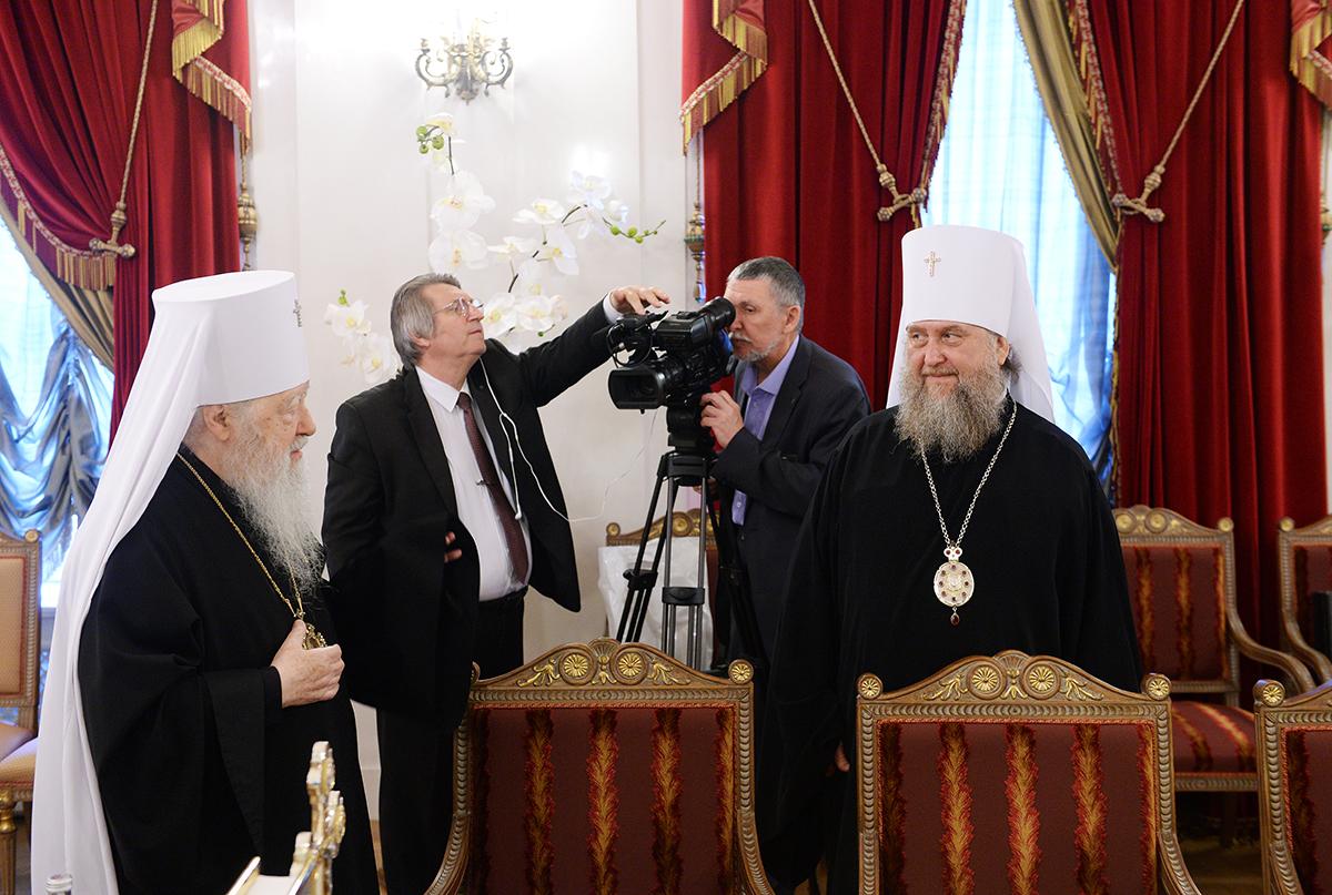Заседание Священного Синода Русской Православной Церкви от 29 июля 2017 года