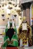 Патриарший визит в Санкт-Петербургскую митрополию. Литургия в Никольском Морском соборе в Кронштадте. Встреча с Президентом России В.В. Путиным