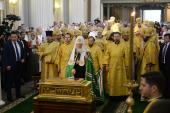 Состоялся Первосвятительский визит Святейшего Патриарха Кирилла в Санкт-Петербургскую митрополию