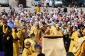 Память блаженной Матроны Анемнясевской молитвенно отпраздновали на месте земного подвига исповедницы