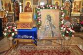 Празднования в честь Калужской иконы Божией Матери возглавили архипастыри Калужской митрополии