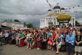 В Арзамасе состоялся VIII Международный фестиваль-конкурс православной и патриотической песни «Арзамасские купола»