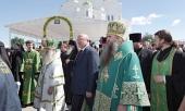 В день памяти преподобного Серафима Саровского сонм архипастырей совершил Литургию в Серафимо-Дивеевском монастыре