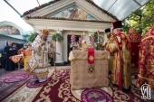 В день памяти пророка Илии Предстоятель Украинской Православной Церкви совершил Литургию в Ильинском храме Киева