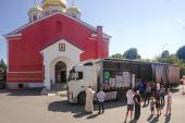 В Орел прибыла вторая партия церковного гуманитарного груза для нуждающихся семей