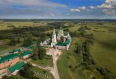 В канун дня памяти прав. воина Феодора Ушакова управляющий делами Московской Патриархии возглавил всенощное бдение в Санаксарском монастыре у мощей святого