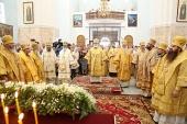 Патриарший экзарх всея Беларуси возглавил торжества по случаю 300-летия со дня рождения святителя Георгия (Конисского)