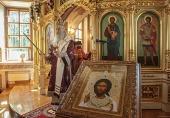 Торжества по случаю престольного праздника Борисоглебского Аносина монастыря возглавил председатель Синодального отдела по монастырям и монашеству