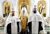 Избранные архиереями игумен Феодорит (Тихонов) и иеромонах Илия (Казанцев) возведены в сан архимандрита