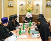 В Минском епархиальном управлении состоялось очередное заседание Архиерейского совета Минской митрополии