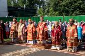 В Удмуртской митрополии молитвенно почтили память священномученика Амвросия (Гудко), епископа Сарапульского