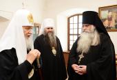 Святейший Патриарх Кирилл посетил музей Русского Патриаршества в Арзамасе