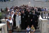 Новоназначенный управляющий приходами Московского Патриархата в Италии совершил первую Литургию в храме вмц. Екатерины в Риме