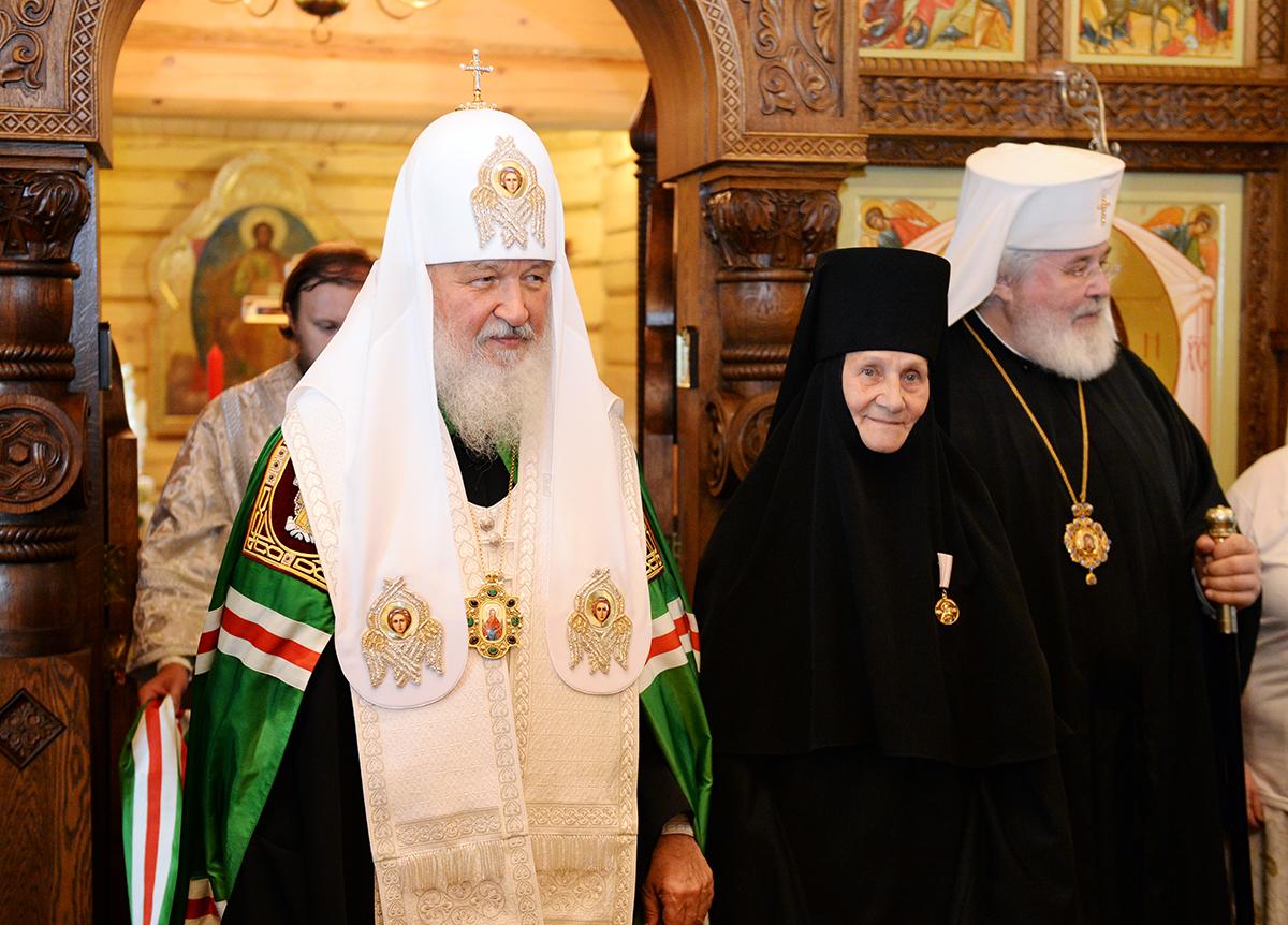 Патриарший визит в Санкт-Петербургскую митрополию. Посещение Линтульского подворья Константино-Еленинского монастыря