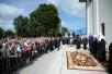 Патриарший визит в Санкт-Петербургскую митрополию. Посещение Никольского храма в поселке Рощино