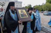 В дни празднования 125-летия Выборгской епархии в Выборг принесена чудотворная Коневская икона Божией Матери