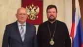 Состоялась встреча управляющего Патриаршими приходами в США с Постоянным представителем России при ООН