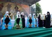 Слово Святейшего Патриарха Кирилла после Литургии на Соборной площади Выборга